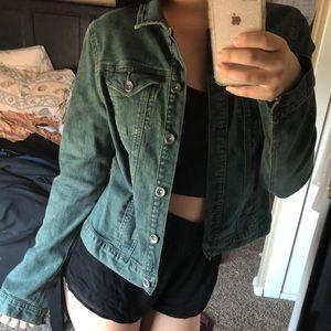 Calvin Klein green jacket